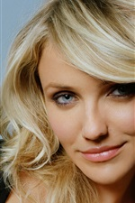 Preview iPhone wallpaper Cameron Diaz 01