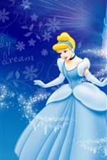 Preview iPhone wallpaper Cinderella and the Magic