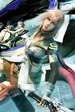 Final Fantasy XIII personagens do jogo