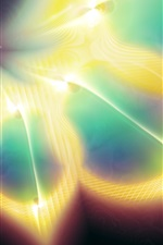 Preview iPhone wallpaper Fractal pattern abstract