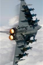 Preview iPhone wallpaper Heavy bomber in flight
