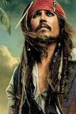 Johnny Depp Jack Sparrow Piratas do Caribe