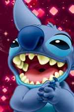 Preview iPhone wallpaper Laugh Stitch