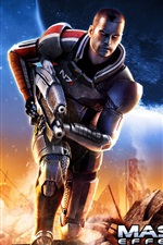 Preview iPhone wallpaper Mass Effect 2 HD