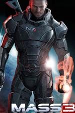 Preview iPhone wallpaper Mass Effect 3