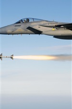 Preview iPhone wallpaper Mcdonnell Douglas F-15 Eagle