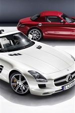 iPhone fondos de pantalla Mercedes-Benz SLS AMG