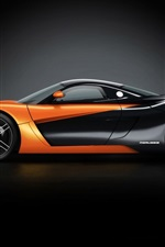 Preview iPhone wallpaper Orange 2010 Marussia B1