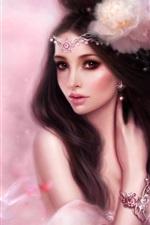 핑크 판타지 소녀