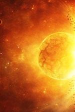 플래닛 폭발 은하