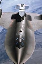 SR-71 Blackbird fighter
