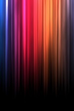 Preview iPhone wallpaper Spectrum bands of color lines