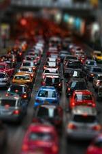 스트리트 자동차 교통 체증