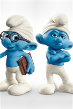 Preview iPhone wallpaper The Smurfs HD