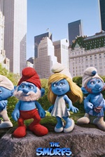Preview iPhone wallpaper The Smurfs