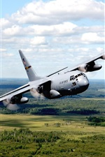 Preview iPhone wallpaper US air force bomber plane
