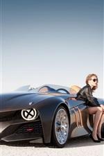 BMW 블랙 쿨 자동차