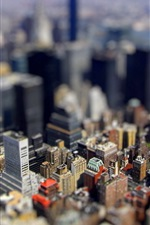 Preview iPhone wallpaper City Miniature photo