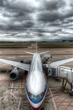 Preview iPhone wallpaper Civil Aircraft Airport