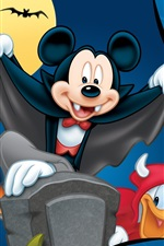 Preview iPhone wallpaper Mischievous Mickey