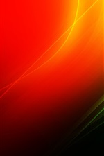 Preview iPhone wallpaper Red and green abstract background