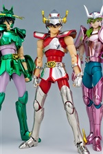 Preview iPhone wallpaper Saint Seiya