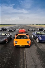 Preview iPhone wallpaper Supercars collection