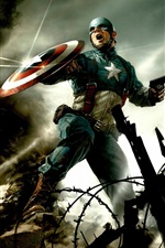 Preview iPhone wallpaper 2011 Captain America HD