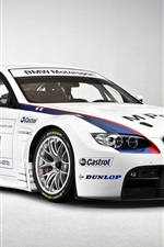Preview iPhone wallpaper BMW Motorsport white color