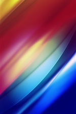 Preview iPhone wallpaper Band light curves of the luminescence line
