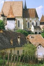 아름다운 시골 마을