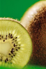 Preview iPhone wallpaper Kiwi fruit close-up