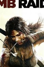 Preview iPhone wallpaper Lara Croft in Tomb Raider 9