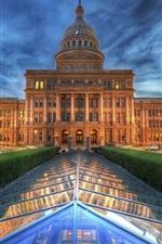 정부 사무소의 빛