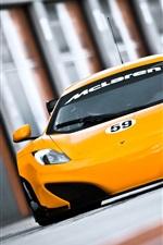 Preview iPhone wallpaper McLaren MP4-12C GT3 2011