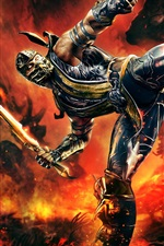 Preview iPhone wallpaper Mortal Kombat