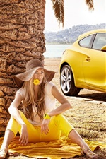 Preview iPhone wallpaper Opel Astra GTC 2011