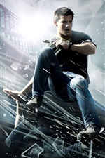 Preview iPhone wallpaper Taylor Lautner in Abduction