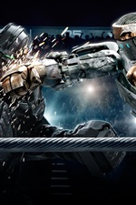 Preview iPhone wallpaper 2011 Real Steel