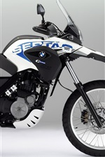 Preview iPhone wallpaper 2012 Bmw G 650 GS motorcycle
