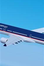 ADEL's Airways plane
