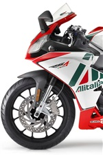 Preview iPhone wallpaper Aprilia RS4 50 2011