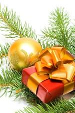 크리스마스 장식과 선물
