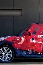 자동차의 다채로운 그림