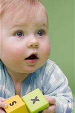 Fotografia bebê bonito e divertido