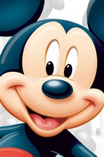 Preview iPhone wallpaper Disney Star Mickey Mouse