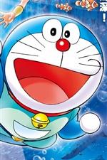 Preview iPhone wallpaper Doraemon cartoon