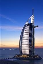 Preview iPhone wallpaper Dubai Hotels Burj Al Arab