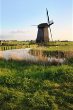 Preview iPhone wallpaper Farm Windmill
