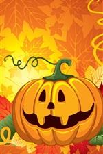 Preview iPhone wallpaper Halloween vector design